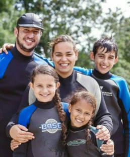 Sportieve familievakantie